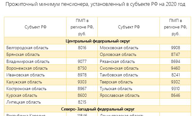 Бюджет прожиточного минимума в 2020 году - что это такое, сколько, в России